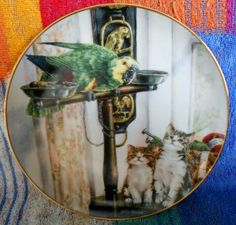 """Franklin Mint """"Polly & Friends"""" plate"""