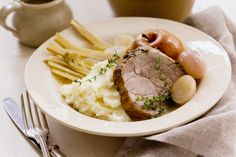 Apple and pork complement each other so well. Try this recipe in the slow cooker to get the meat extra moist.