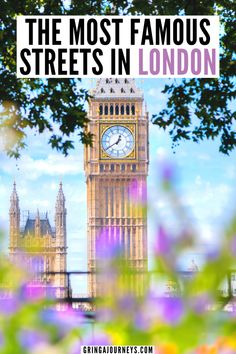 This guide highlights 22 of the most famous London streets, including historic streets as well as the best streets in London for shopping. Spots like Baker Street, Oxford Street, and Abbey Road are included! #visitlondon #europetravel   beautiful places in London   prettiest places in London   London photography instagram   London travel   London history   London street photography   places to visit in London   things to see in London   important famous streets in London Day Trips From London, Things To Do In London, Travel Tips For Europe, Travel Destinations, Travel Abroad, London Travel, Travel Uk, Travel England, Travel Info