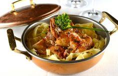 Codorna recheada compõe menu fixo do português 'a bela Sintra'  | #ABelaSintraCodornaRecheada, #ChefIldaVinagre