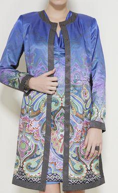 Etro Blue, Green, Purple And Multicolor Ensemble | VAUNTE