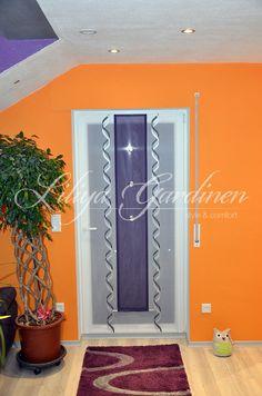 Geschmackvoller Schlafzimmer Vorhang In Den Farben Rot/schwarz/weiß    Http://www.gardinen Deko.de/geschmackvoller Schlafzimmer Vorhanu2026