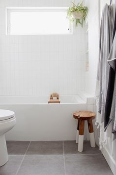 The most crucial of simple bathroom decorating ideas is simply that – keep it simple. The bathroom and its own fixtures are necessary in every home, and the best way to keep them looking nice is to maintain the decor simple, Ikea Bathroom, Guest Bathrooms, Upstairs Bathrooms, Bathroom Kids, Bathroom Renos, Simple Bathroom, Concrete Bathroom, White Bathrooms, Luxury Bathrooms