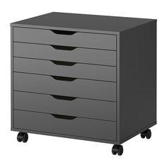 PiggieLuv: Ikea Alex for nail polish storage!