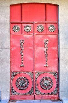 Fantastic looking door. Yerevan, Armenia by Caroline C. ❦