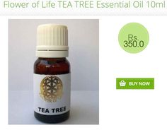 Check out Flower of Life #TEA TREE #Essential_Oil 10ml http://www.shophealthy.in/aromatherapy/essential-oils/flower-of-life-teatree-essential-oil-10ml