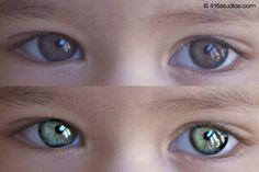 Gemakkelijk ogen verscherpen in Photoshop