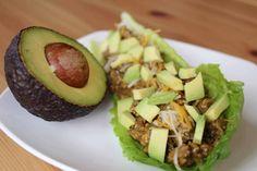 Keto Lettuce Wrap Tacos Best Taco Meat Recipe, Taco Lettuce Wraps, Keto Recipes, Healthy Recipes, Keto Foods, Mexican Recipes, Low Carb Meats, Keto Tortillas, Keto Taco