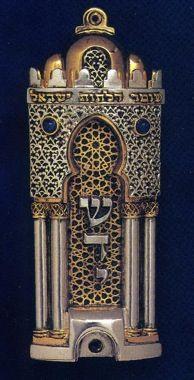 Toledo #Mezuzah, Frank Meisler #judaism #judaica