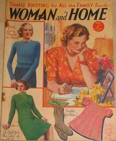 Woman and Home magazine from March 1940