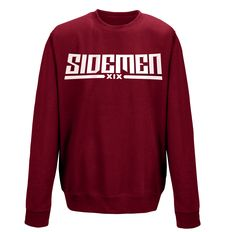 The official clothing line of the Sidemen. The only place to buy official Sidemen merchandise. Burgundy Top, Polyvore Outfits, Hoodies, Sweatshirts, Black Tops, Cute Outfits, My Style, Shopping, Clothes