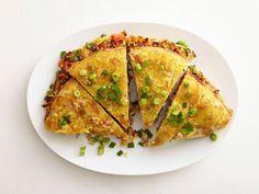 Western Hash Brown Omelet - brinner (breakfast for dinner) idea