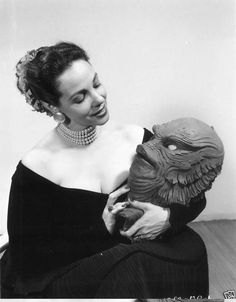 Millicent Patrick, designer of The Creature from the Black Lagoon.
