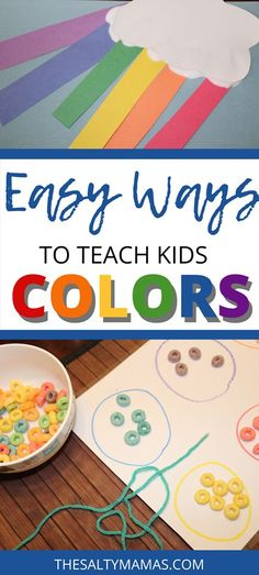 Fun Activities to Teach Kids Colors