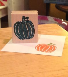My first attempt using the new Stampin' Up! Undefined stamp carving set. So impressed with myself!!