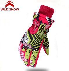 0cc5fa739 US $13.78 |Aliexpress.com : Buy Wild snow Children Ski Gloves Girls Boys  Warm Winter Waterproof Skiing Gloves For Kids Snowboard Snow Gloves Mittens  from ...