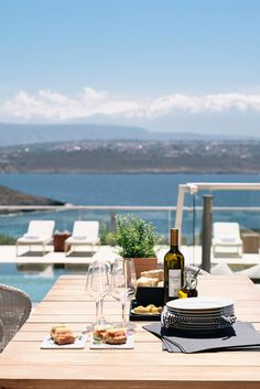 Enjoy your dinner at the privacy of your luxury Villa in Crete! #crete #greece #chania #summer #vacations #holiday #travel #sea #sun #sand #nature #landscape #island #TheHotelgr #rent #villas #apartments #nature #view  #holidays #travelling #instatravel #pool #pinterest #luxury #villa #apartment #urlaub #ferien #reisen #meerblick #aussicht #sommer #thehotelgr