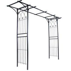 jago Arco giardino di ferro per piante rampicanti altezza totale 204 cm