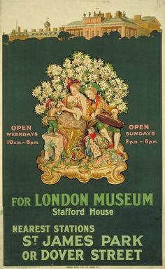 For London Museum, Stafford House, by Charles E Crombie, 1915