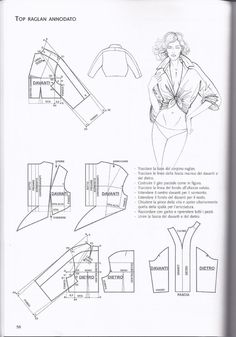 T Shirt Sewing Pattern, Pattern Drafting, Dress Sewing Patterns, Clothing Patterns, Pattern Cutting, Pattern Making, Modelista, Make Your Own Clothes, Fashion Sewing