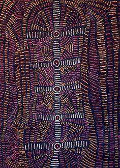 Doris Bush Nungarrayi / Nyumannu   122 cm x 91cm