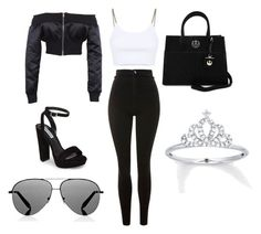 Designer Clothes, Shoes & Bags for Women Bad Girl Outfits, Swag Outfits For Girls, Girls Fashion Clothes, Teen Fashion Outfits, Mode Outfits, Retro Outfits, Girly Outfits, Cute Casual Outfits, Stylish Outfits