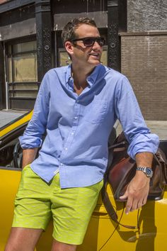Very cool men's shorts - prints all over - M60s - Breese Menswear  http://www.breesestyle.com