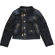 DSquared2 Girls Padded Denim Jacket