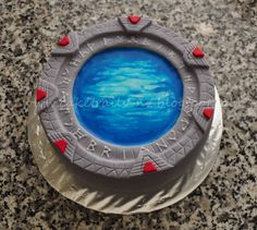 Stargate cake - or this one!!