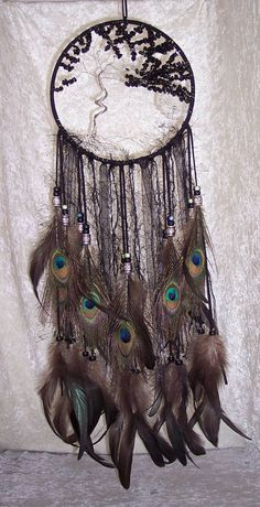 Windswept Blackstone TREE of LIFE by FeatheredDreams1 on Etsy