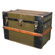 Working Class Steamer Trunk C1915 | Restored Antiques & Vintage Finds from Rejuvenation