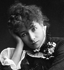 "Sarah Bernhardt(1844-1923) by Paul Nadar (crop).jpgSarah Bernhardt 1878-/ was a French stage and early film actress. She was referred to as ""the most famous actress the world has ever known""In her youth, Queen Marie of Romania used to dress like Bernhardt in court balls.Bernhardt made her fame on the stages of France in the 1870s, at the beginning of the Belle Epoque period, and was soon in demand in Europe and the Americas. She developed a reputation as a serious dramatic actress, earning…"
