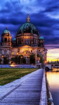 Cathedral in Berlin, Germany.