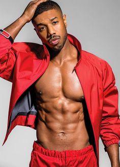 michael-b-jordan-muscles-sexy-abdos Hot Guys, Hot Black Guys, Fine Black Men, Gorgeous Black Men, Cute Black Boys, Handsome Black Men, Fine Men, Beautiful Men, Hot Men