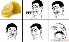 Amikor citromot eszel