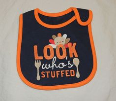 NEW Unisex Baby Carter's Look Who's Stuffed, Thanksgiving, Holiday, Turkey #Carters