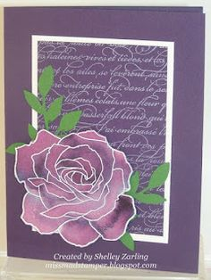 Re-Inker Spread Cards by Shelley Zarling.... see all 6 colors in post