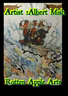 Airbrushed hoodie Apple Art, Comic Books, Hoodie, Paintings, Comics, Artist, Artwork, Hoodie Sweatshirts, Work Of Art