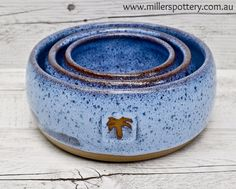Handmade ceramic bowls by Miller's Pottery Australia