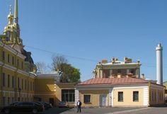 Hôtel du Trésor et son annexe - Saint Petersbourg - Construit de 1837 à 1838 par l'architecte Ivan Galberg.