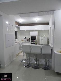 Tour pela minha Cozinha!!! Móveis Planejados e Pedras Brancas!