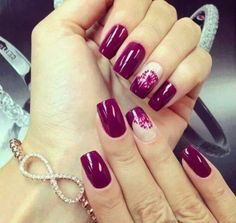 Autumn nails with a pattern, Beautiful evening nails, Beautiful nails 2016, Evening dress nails, Everyday nails, Long nails, Luxury nails, Nails…
