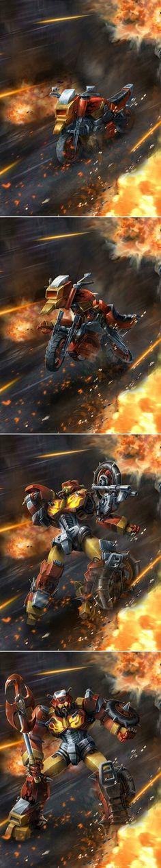 TRANSFORMERS LEGENDS Wreck-Gar by manbu1977.deviantart.com on @deviantART