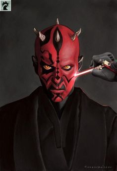 Star Wars - Darth Maul by Hammermeister