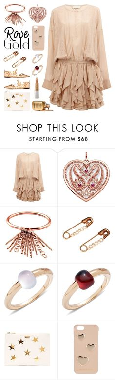 """""""So Pretty: Rose Gold Jewelry"""" by deepwinter ❤ liked on Polyvore featuring Faith Connexion, Thomas Sabo, Ginette NY, Skyler Man, Pomellato, Dolce&Gabbana, STELLA McCARTNEY, MICHAEL Michael Kors, Mariah Carey and rosegold"""