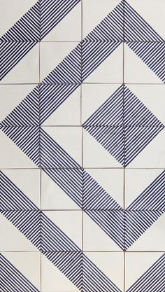 Quiltspiration : LINO tiles | design by davidpompa | Uriarte Talavera tiles | handpainted | handmade in México