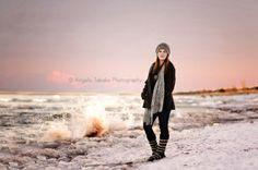 © Angela Tabako Photography Winter Senior Portraits