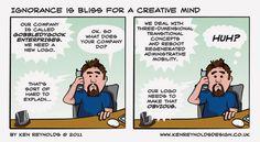 Ignorance is bliss - Ken Reynolds Comic