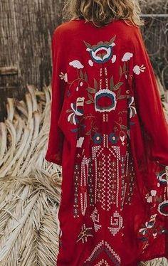 200 Boho-Style Fashion Looks#BohoLooks