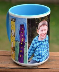 See how Amy Latta from One Artsy Mama turned her child's artwork into great gifts for friends and family from Shutterfly.